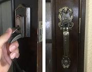 室内空錠 ドアハンドル交換作業
